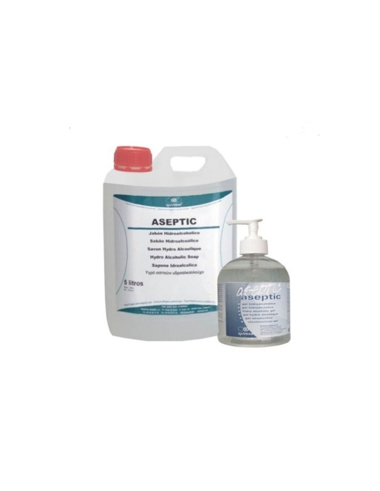 GEL HIDROALCOHOLICO ASEPTIC 5L